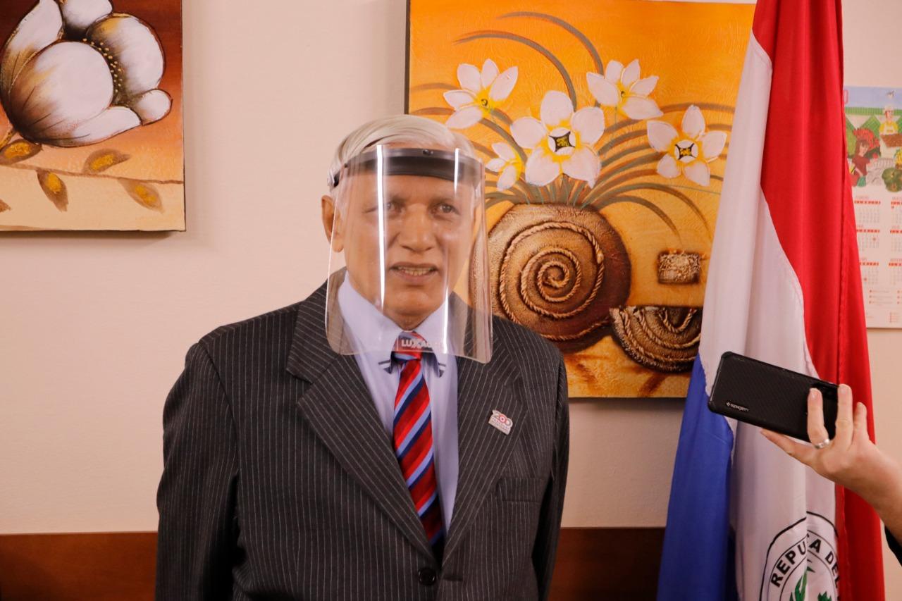Asume nuevo Presidente del Tribunal Electoral de la Capital Primera Sala - Justicia Electoral · República del Paraguay