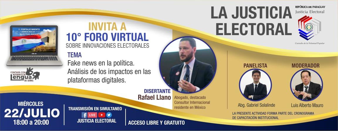 Fake News en la política: Análisis de los impactos en las plataformas digitales - Foro 10