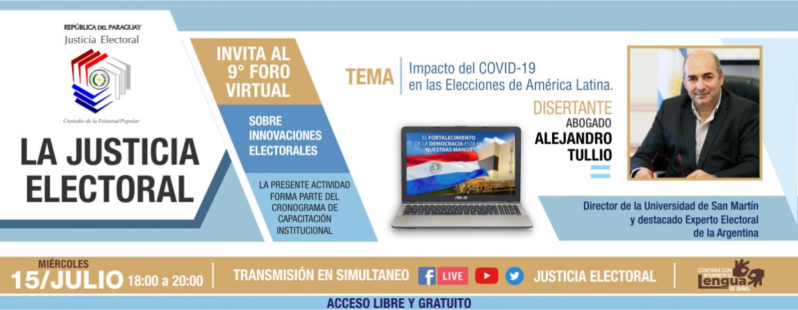 Impacto del COVID-19 en las elecciones de América Latina - Foro 9