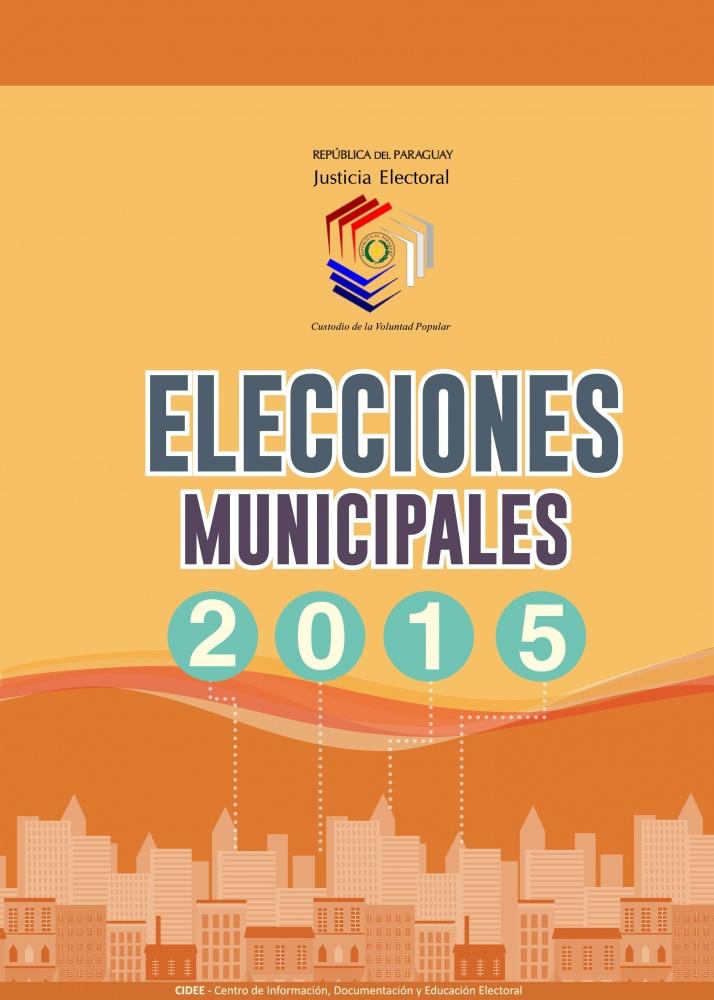 Elecciones Municipales 2015: Instalación de la MRV, materilaes, inicio de la votación, voto accesible, votación, casos especiales, cierre de votación, escrutinio, TREP, entrega de expedientes.